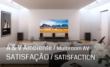 Casas Inteligentes Instalacao Multiroom Comsafemob